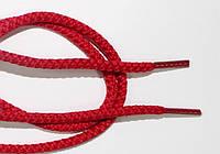 Шнурки круглые 4мм красный, фото 1