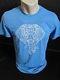 Хлопковые футболки для мужчин на лето., фото 2
