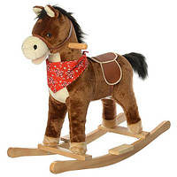 Детская музыкальная качалка-лошадка  M 0235-1