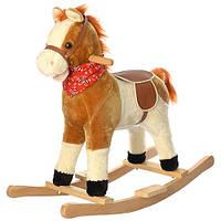 Детская музыкальная качалка-лошадка M 0236-1