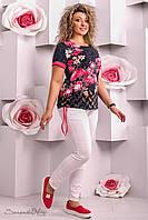 Женская туника большого размера  2278  Seventeen 50-56 размеры