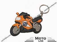 Брелок мотоцикл силиконовый BMW YSK135