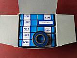 Радіальний однорядний шариковыйподшипник 6203 2RS, NTE (Словаччина), фото 2