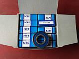 Радіальний однорядний шариковыйподшипник 6203 2RS, NTE (Словаччина), фото 3