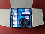 Радіальний однорядний шариковыйподшипник 6203 2RS, NTE (Словаччина), фото 4