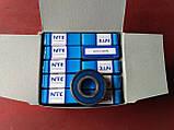 Радіальний однорядний шариковыйподшипник 6203 2RS, NTE (Словаччина), фото 5