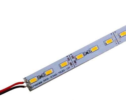 Светодиодная линейка Biom SMD5730 15W 12V теплый белый