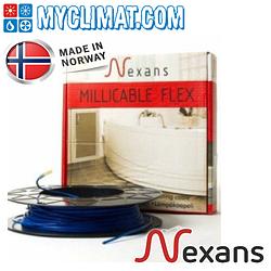 Кабель нагревательный тонкий двужильный Nexans Millicable Flex 15 (2.5 м2)