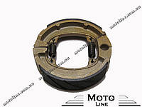 Колодки тормозные задние барабанные Hobda Dio/Tact-50 (TW) Superior Mototech