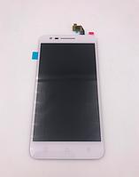 Оригинальный дисплей (модуль) + тачскрин (сенсор) для Lenovo C2   K10a40 (белый цвет)