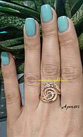 Кольцо золотое без камней.