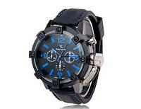 Часы мужские  V6 Super Speed black-blue