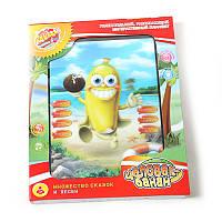 """Развивающий интерактивный планшет для ребенка """"Банан"""""""