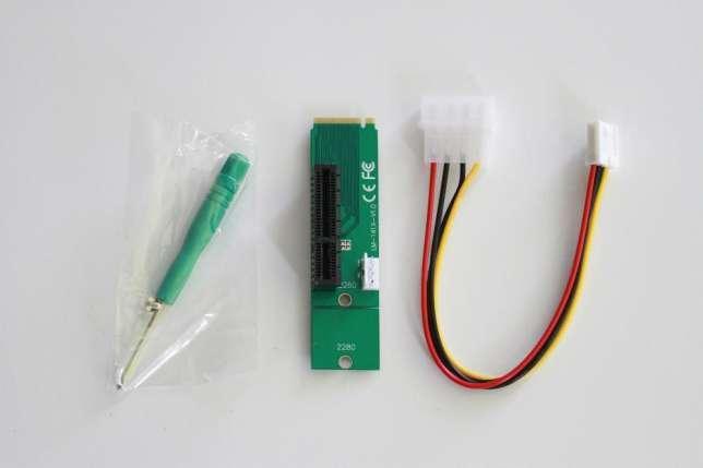 PCI-E 4X NGFF M.2 переходник адаптер #100448