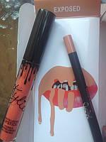 Помада и карандаш Kylie (EXPOSED)