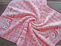 """Плед-одеяло """"Baby Toys"""" для девочки, нежно-розовый цвет"""