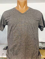 Мужская футболка «StillMax» серая (размер L)