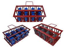 Комплектующие на вибростанки на 4 блока