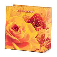 Подарочный бумажный пакет OL - Роза