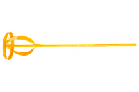 Topex Мешалка для лакокрасочных материалов, 80 мм