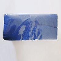 Салфетки сервировочные VIP 24х24 200 листов синие