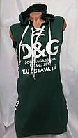 Платье женское капюшон Турецкое СП