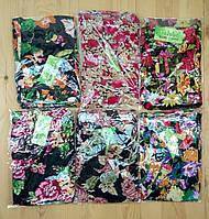 Cултанки  женские цветные батал Jujube  46-52 размер (разные рисунки)  с манжетами ЛЖЛ-3025