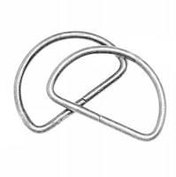Полукольцо 3см никель (уп.200шт)
