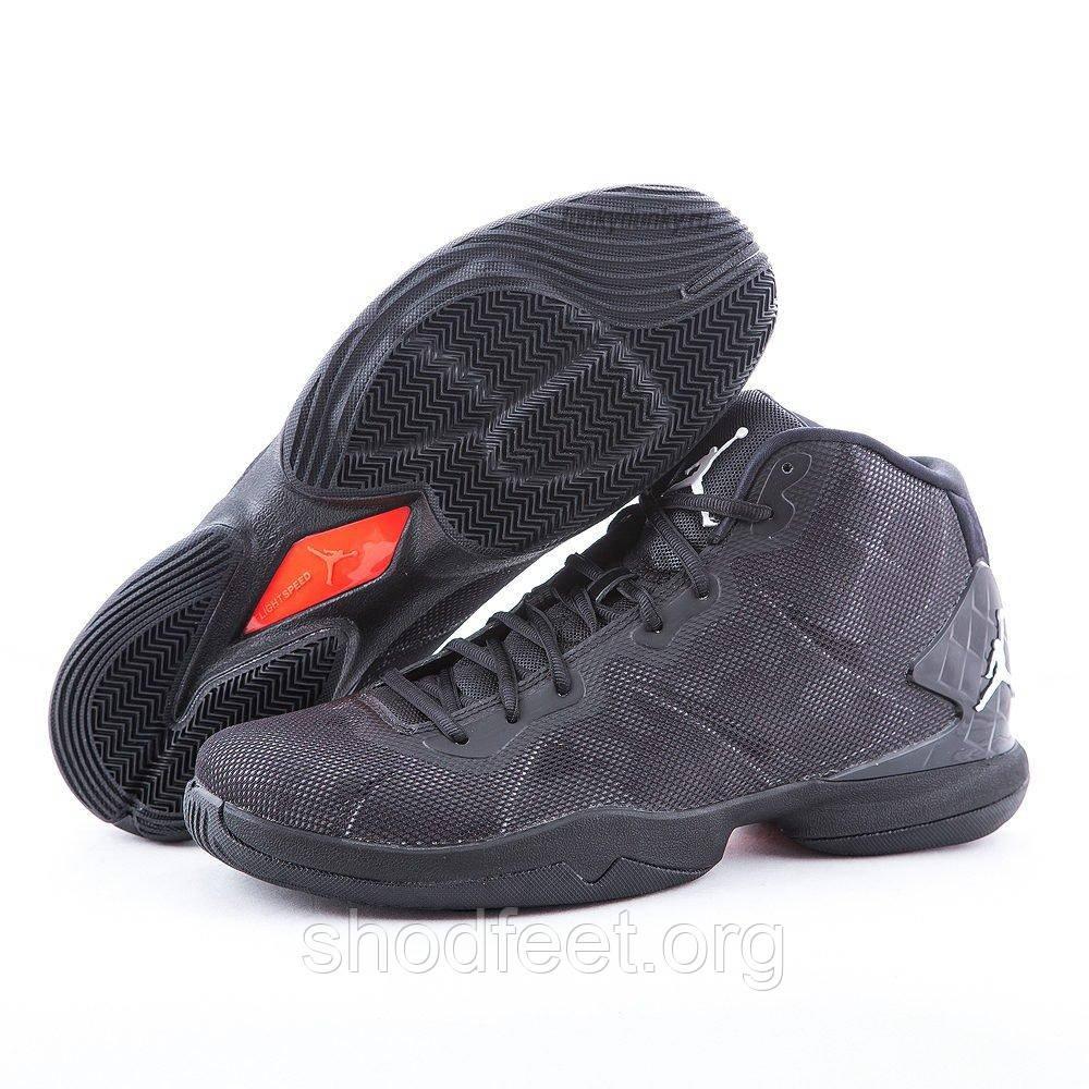 Мужские баскетбольные кроссовки Jordan Super Fly 4 Black