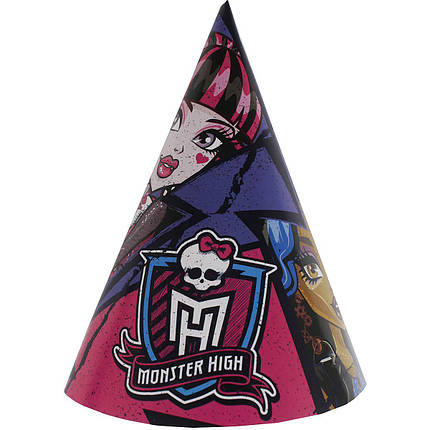 Ковпачки Monster High, 8 шт, фото 2