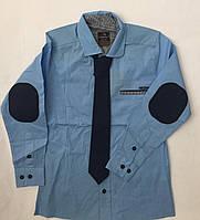 Рубашка  для мальчиков на рост 116-134