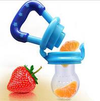 Ниблер для фруктов силиконовая соска для малышей прикорм, фото 1