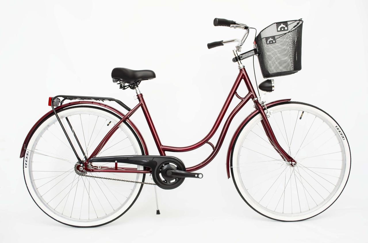c395d355ccb467 Купить Городской велосипед Antonio Lady 28 Red Польша с доставкой по ...