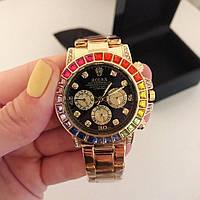Женские красивые часы (разные цвета)