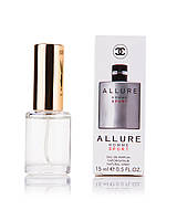 Парфюм с феромонами CHANEL Allure Homme Sport  для мужчин,(15 мл)