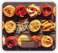 Весы кухонные Magio MG-690 Spaghetti 5 кг электронные стекло