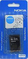 АКБ 100% оригинал Nokia BL- 5CA 1112/  1200/  1208/  1209/  1680/  1616.