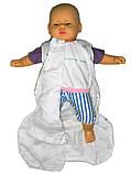 Спальный мешок детский  MS 606 ежики, самолеты, утята, фото 5