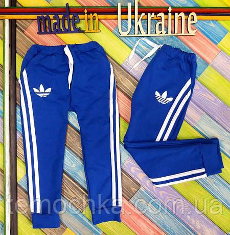 Спортивные штаны .Adidas.Синие.