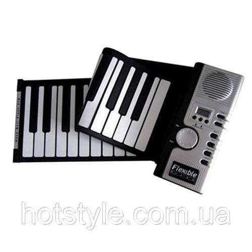 Синтезатор, гибкая MIDI клавиатура, пианино, 61 кл