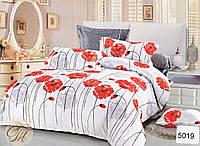 Комплект постельного белья ELWAY евро 5019 cатин