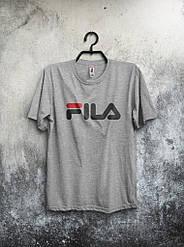 Мужская футболка Fila серая