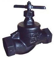 Вентиль (клапан) 15кч18п чугунный  муфтовый Ду32