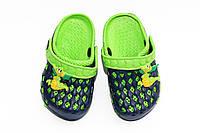 Для детей обувь. синий/зеленый (24-29)