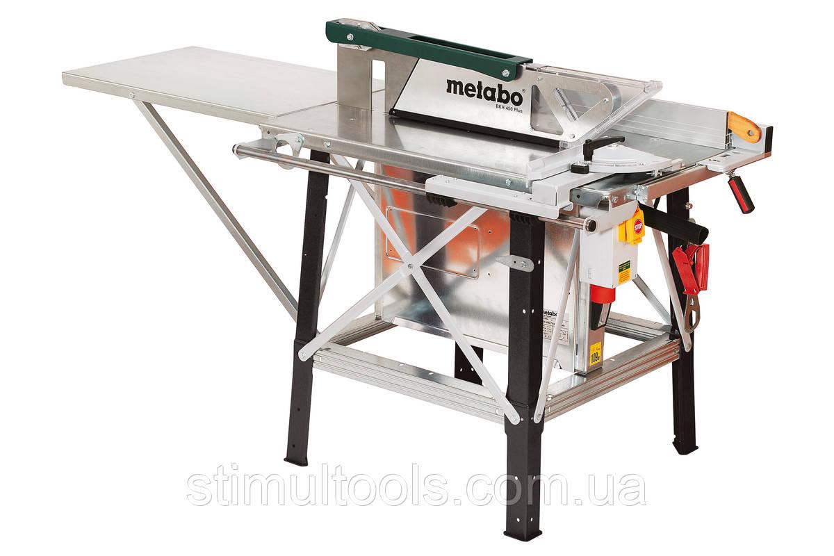 Циркулярная пила Metabo BKH 450 PLUS - 5,5 DNB(Смонтированная)