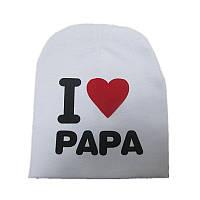 Шапочки  Bape детские для мальчика и девочки  Папа белая