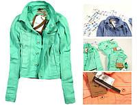 Куртка джинсовая короткая женская