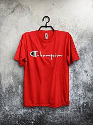 Мужская футболка Champion красная