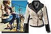 Куртка джинсовая + вставки эко-кожи, фото 4
