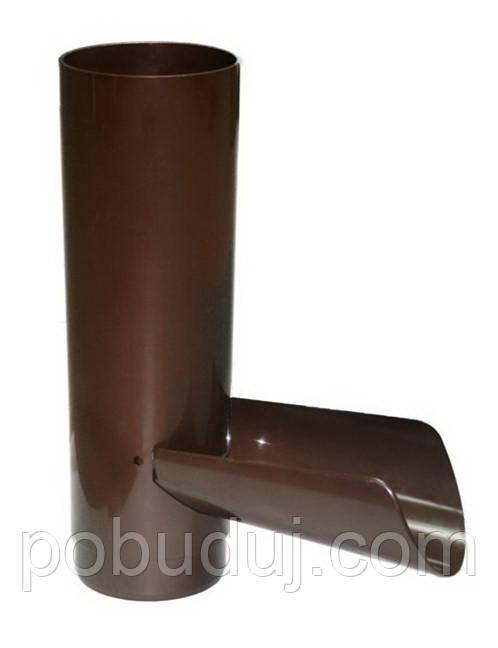 Отвод для сбора воды PROFiL 90/75 коричневый - Наша Стройка в Киеве